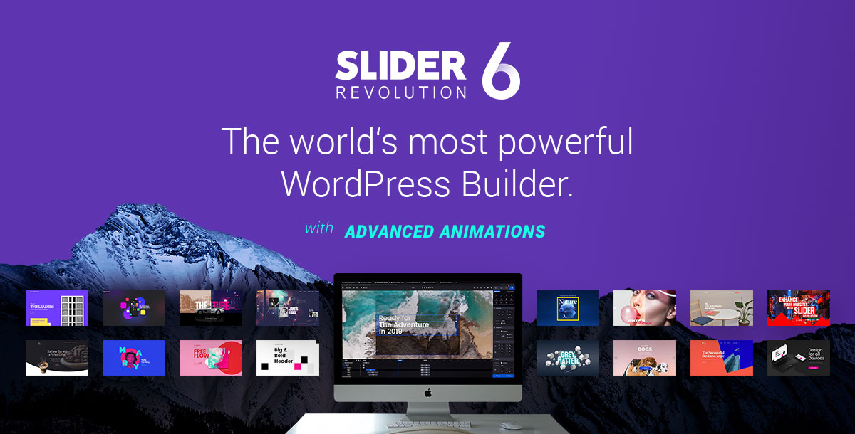 Slider Revolution - The world's most powerful WordPress Builder